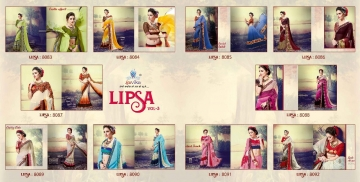 SHRAVIKA LIPSA VOL 3 EXCLUSIVE INDIAN SAREE CATALOG WHOLESALE BEST ARET BY GOSIYA EXPORTS SURAT (9)