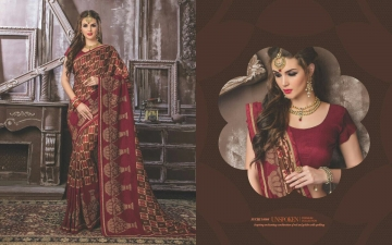 SHRAVIKA SUCHI SAREE COLLECTION WHOLESALE SUPPLIER DELEAR BEST RATE BY GOSIYA EXPORTS SURAT (5)