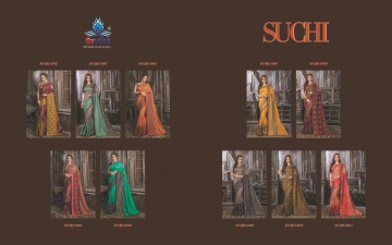SHRAVIKA SUCHI SAREE COLLECTION WHOLESALE SUPPLIER DELEAR BEST RATE BY GOSIYA EXPORTS SURAT (6)