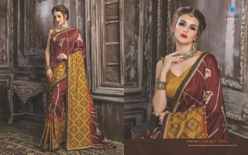 SHRAVIKA SUCHI SAREE COLLECTION WHOLESALE SUPPLIER DELEAR BEST RATE BY GOSIYA EXPORTS SURAT (9)