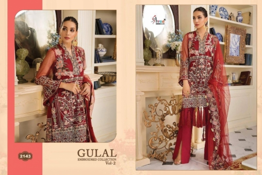SHREE FAB GULAL EMBROIDERED COLLECTION VOL 2 (12)