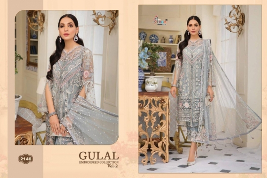 SHREE FAB GULAL EMBROIDERED COLLECTION VOL 2 (13)