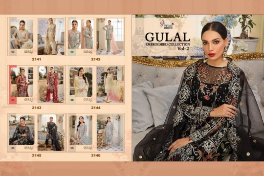 SHREE FAB GULAL EMBROIDERED COLLECTION VOL 2 (15)