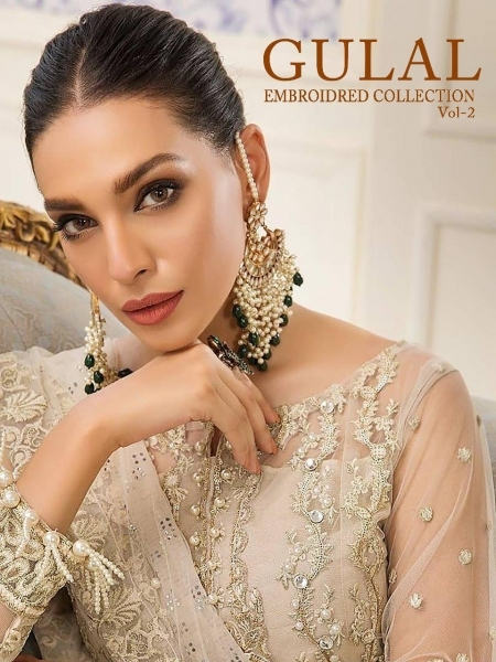 SHREE FAB GULAL EMBROIDERED COLLECTION VOL 2 (2)