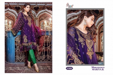 SHREE FAB MBROIDERED MARIYA B COLLECTION WHOLESALER BEST RATE SUPPLIER BY GOSIYA EXPORTS SURAT GUJARAT (3)