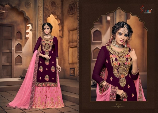 SHREE FAB SHEHNAI BRIDAL COLLECTION VOL 23 GEORGETTE SARARA STYLE SALWAR SUIT WHOLESALE DEALER BEST RATE BY GOSIYA EXPORTS SURAT (10)
