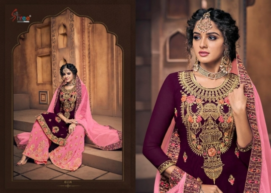 SHREE FAB SHEHNAI BRIDAL COLLECTION VOL 23 GEORGETTE SARARA STYLE SALWAR SUIT WHOLESALE DEALER BEST RATE BY GOSIYA EXPORTS SURAT (7)