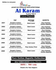 SHREE FABS AL KARAM LAWN COTTON VOL 1 WHOLESALE RATE AT GOSIYA EXPORTS SURAT WHOLESALE SUPPLAYER AND DEALER SURAT GUJARAT (9)
