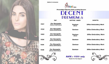 SHREE FABS DECENT PREMIUM VOL 5 WHOLESALE DEALER SHREE FABS BY GOSIYA EXPORTS (10)