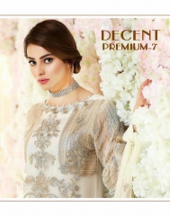 SHREE FABS DECENT PREMIUM VOL 7 WHOLESALE RATE ONLINE BY GOSIYA EXPORTS SURAT