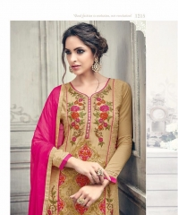 SHREE FABS FIRST CHOICE 19 GEORGETTE EMBROIDERED PARTY WEAR SUITS WHOLESALE SUPPLIER BEST RATE BY GOSIYA EXPORTS SURAT