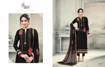 SHREE FABS FIRST CHOICE 19 GEORGETTE EMBROIDERED PARTY WEAR SUITS WHOLESALE T (8)