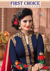 SHREE FABS FIRST CHOICE HIT COLLECTION SALWAR KAMEEZ CATALOG WHOLESALE RATE (1)