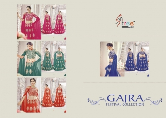 SHREE FABS GAJRA FESTIVAL COLLECATION LEHENGA CATALOG BEST ARTE BY GOSIYA EXPORTS SURAT (1)