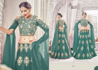 SHREE FABS GAJRA FESTIVAL COLLECATION LEHENGA CATALOG BEST ARTE BY GOSIYA EXPORTS SURAT (6)