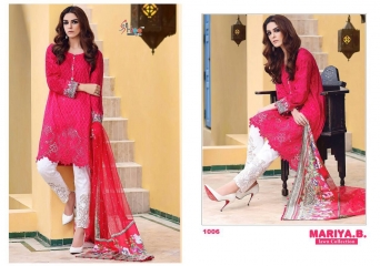 SHREE FABS MARIA B LAWN COLLECTION PAKISTANI SUITS 2017 COLLECTION WHOLESALE BEST RATE BY GOSIYA EXPORTS (1)