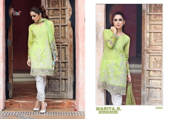 SHREE FABS MARIA B LAWN COLLECTION PAKISTANI SUITS 2017 COLLECTION WHOLESALE BEST RATE BY GOSIYA EXPORTS (10)