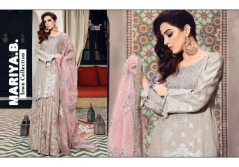 SHREE FABS MARIA B LAWN COLLECTION PAKISTANI SUITS 2017 COLLECTION WHOLESALE BEST RATE BY GOSIYA EXPORTS (12)