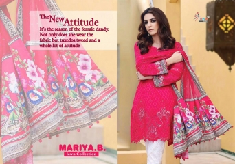 SHREE FABS MARIA B LAWN COLLECTION PAKISTANI SUITS 2017 COLLECTION WHOLESALE BEST RATE BY GOSIYA EXPORTS (14)