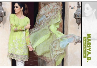 SHREE FABS MARIA B LAWN COLLECTION PAKISTANI SUITS 2017 COLLECTION WHOLESALE BEST RATE BY GOSIYA EXPORTS (3)