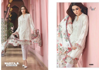 SHREE FABS MARIA B LAWN COLLECTION PAKISTANI SUITS 2017 COLLECTION WHOLESALE BEST RATE BY GOSIYA EXPORTS (4)