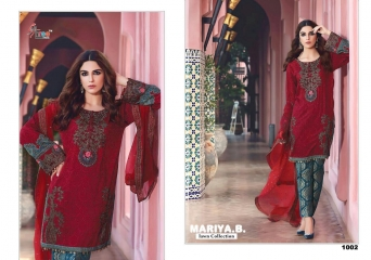 SHREE FABS MARIA B LAWN COLLECTION PAKISTANI SUITS 2017 COLLECTION WHOLESALE BEST RATE BY GOSIYA EXPORTS (7)