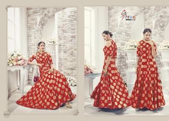 SHREE FABS PARTY WEAR SILK SALWAR KAMEEZ DIWALI COLLECTION WHOLESALE BEST RATE BY GOSIYA EXPORT SURAT (4)
