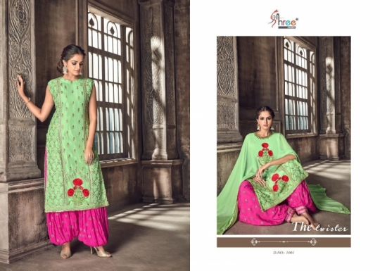 SHREE FABS PRESENT NIPOOR RANGOLI HEAVY EMBROIDERY PATIYALA DRESS COLLECTION WHOLESALE DEALER BEST RATE BY GOSIYA EXPORTS SURAT (1)