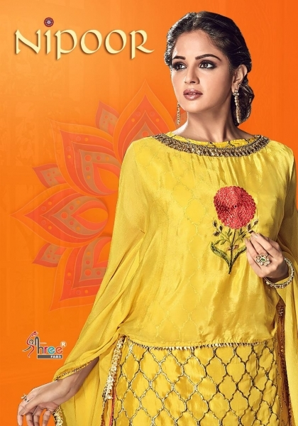 SHREE FABS PRESENT NIPOOR RANGOLI HEAVY EMBROIDERY PATIYALA DRESS COLLECTION WHOLESALE DEALER BEST RATE BY GOSIYA EXPORTS SURAT (10)