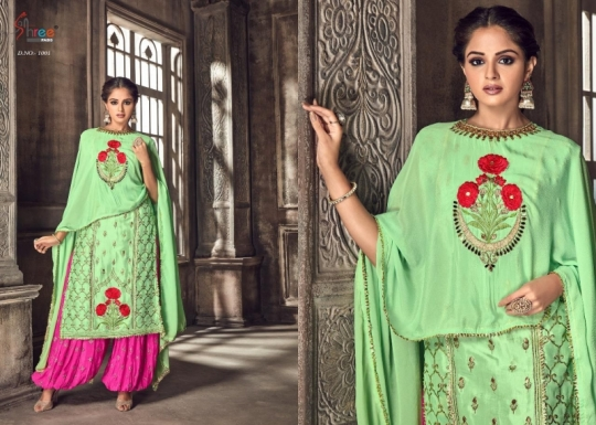SHREE FABS PRESENT NIPOOR RANGOLI HEAVY EMBROIDERY PATIYALA DRESS COLLECTION WHOLESALE DEALER BEST RATE BY GOSIYA EXPORTS SURAT (11)