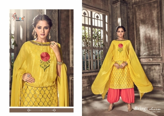 SHREE FABS PRESENT NIPOOR RANGOLI HEAVY EMBROIDERY PATIYALA DRESS COLLECTION WHOLESALE DEALER BEST RATE BY GOSIYA EXPORTS SURAT (2)