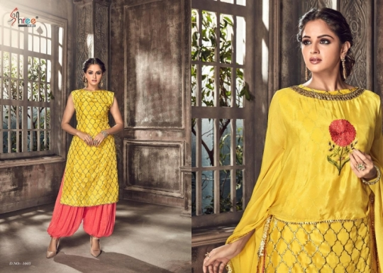SHREE FABS PRESENT NIPOOR RANGOLI HEAVY EMBROIDERY PATIYALA DRESS COLLECTION WHOLESALE DEALER BEST RATE BY GOSIYA EXPORTS SURAT (5)