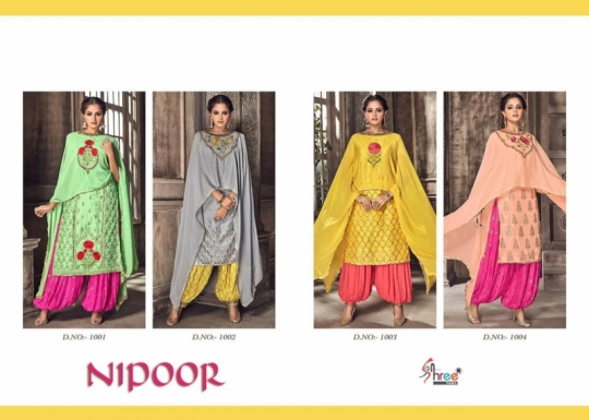SHREE FABS PRESENT NIPOOR RANGOLI HEAVY EMBROIDERY PATIYALA DRESS COLLECTION WHOLESALE DEALER BEST RATE BY GOSIYA EXPORTS SURAT (8)