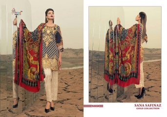 SHREE FABS SANA SAFINAZ GOLD (5)