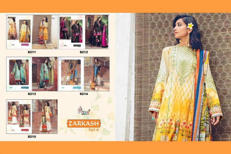 9ac32b3b21 Gosiya Exports » SHREE FABS ZARKASH VOL 6 PAKISTANI SUITS DELHI ...