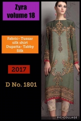 SIBAYASH ZYRA VOL 18 CATALOGUE TUSSER SILK TOP & DUPATTA COLLECTION WHOLESALE DEALER BEST RATE BY GOSIYA EXPORTS SURAT (1)