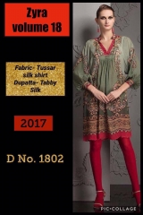SIBAYASH ZYRA VOL 18 CATALOGUE TUSSER SILK TOP & DUPATTA COLLECTION WHOLESALE DEALER BEST RATE BY GOSIYA EXPORTS SURAT (2)