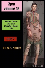SIBAYASH ZYRA VOL 18 CATALOGUE TUSSER SILK TOP & DUPATTA COLLECTION WHOLESALE DEALER BEST RATE BY GOSIYA EXPORTS SURAT (3)