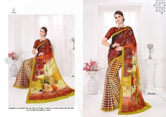 SILKVILLA COCHI SILK VOL 2 DIGITAL PRINTS SILKS DESIGNER WEAR SAREES WHOLESALE (4)
