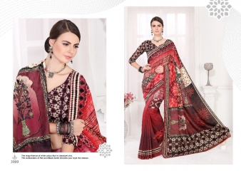 SILKVILLA COCHI SILK VOL 2 DIGITAL PRINTS SILKS DESIGNER WEAR SAREES WHOLESALE (6)