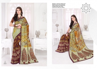 SILKVILLA COCHI SILK VOL 2 DIGITAL PRINTS SILKS DESIGNER WEAR SAREES WHOLESALE (7)