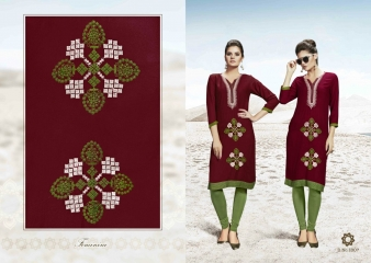 SMORE FASHION FISH FANCY RAYON FABRIC KURTIS FOR FESTIVE WEAR COLLECTION WHOLESALE BEST RATE BY GOSIYA EXPORTS SURAT (8)