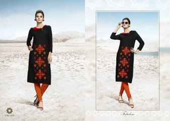 SMORE FASHION FISH FANCY RAYON FABRIC KURTIS FOR FESTIVE WEAR COLLECTION WHOLESALE BEST RATE BY GOSIYA EXPORTS SURAT (9)