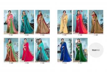 STYLEWELL BY FLORENCIYA CATALOG FANCY PARTY WEAR EMBROIDERED SAREES COLLECTION (11)