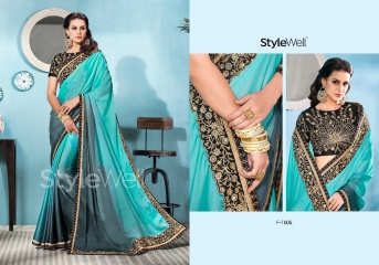 STYLEWELL BY FLORENCIYA CATALOG FANCY PARTY WEAR EMBROIDERED SAREES COLLECTION (4)
