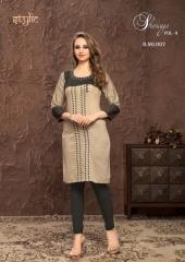 Stylic Shenaya Vol 9 Rayon Casual Wear Kurti Catalog BY GOSIYA EXPORTS SURAT (1)