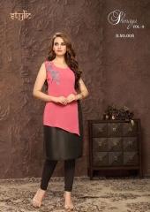 Stylic Shenaya Vol 9 Rayon Casual Wear Kurti Catalog BY GOSIYA EXPORTS SURAT (13)