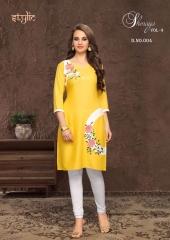 Stylic Shenaya Vol 9 Rayon Casual Wear Kurti Catalog BY GOSIYA EXPORTS SURAT (4)