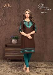 Stylic Shenaya Vol 9 Rayon Casual Wear Kurti Catalog BY GOSIYA EXPORTS SURAT (5)