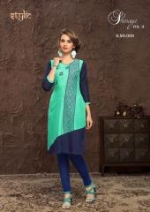 Stylic Shenaya Vol 9 Rayon Casual Wear Kurti Catalog BY GOSIYA EXPORTS SURAT (6)